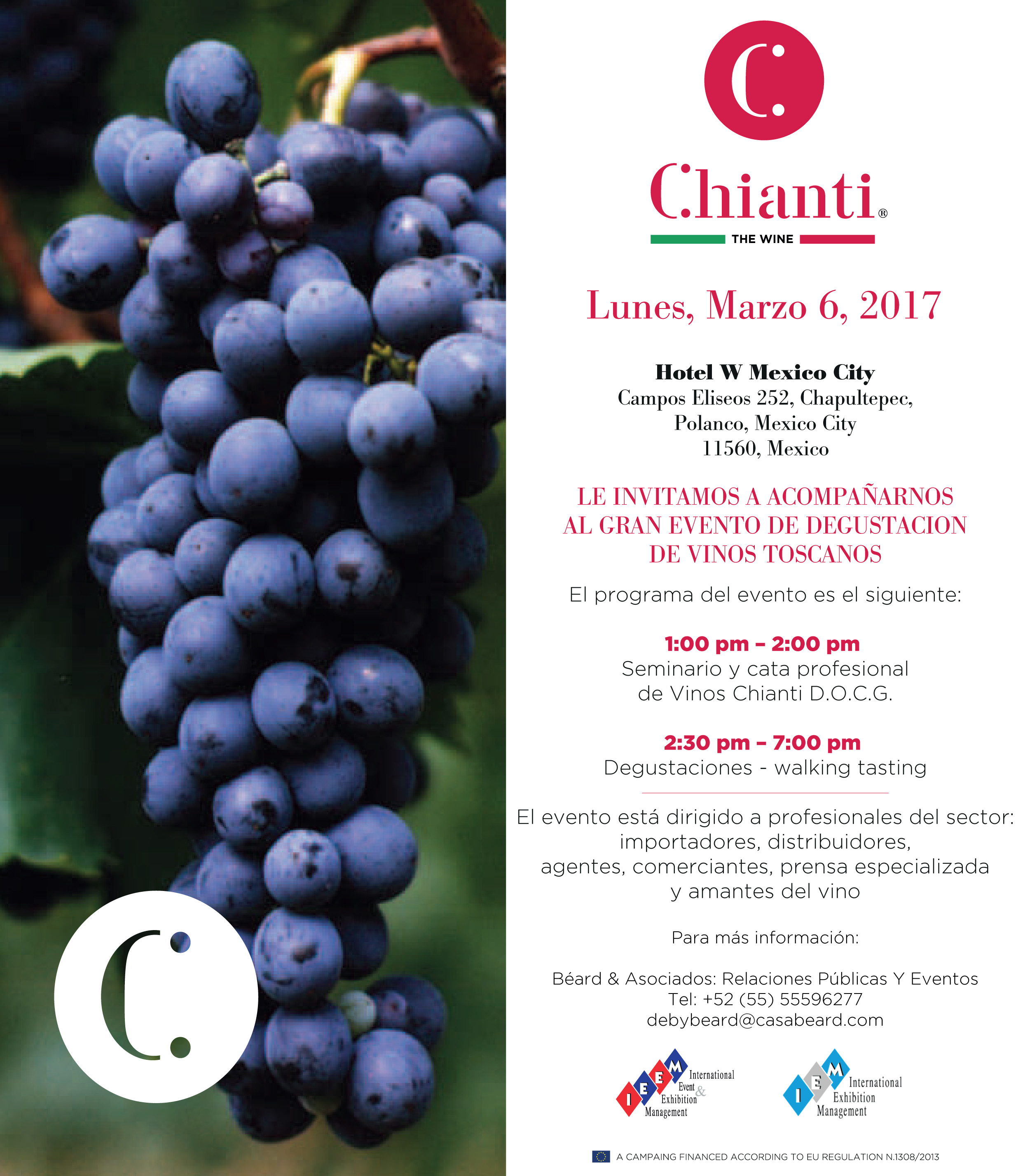 Chianti Mexico Invitation