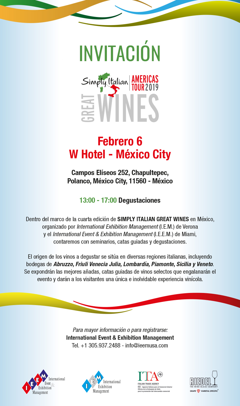 Mexico Invitation IEEM