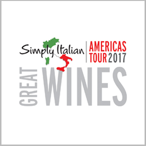 Simply Italian Great Wines Americas Tour 2017